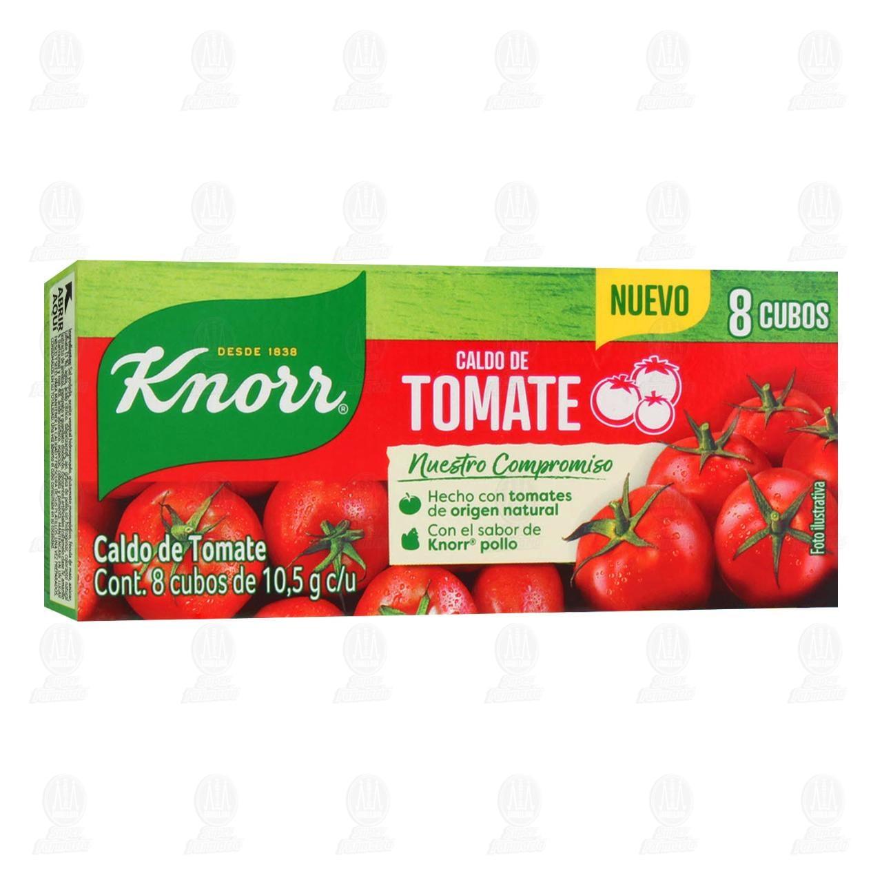 Sazonador Knorr de Tomate en Cubos, 84 gr.