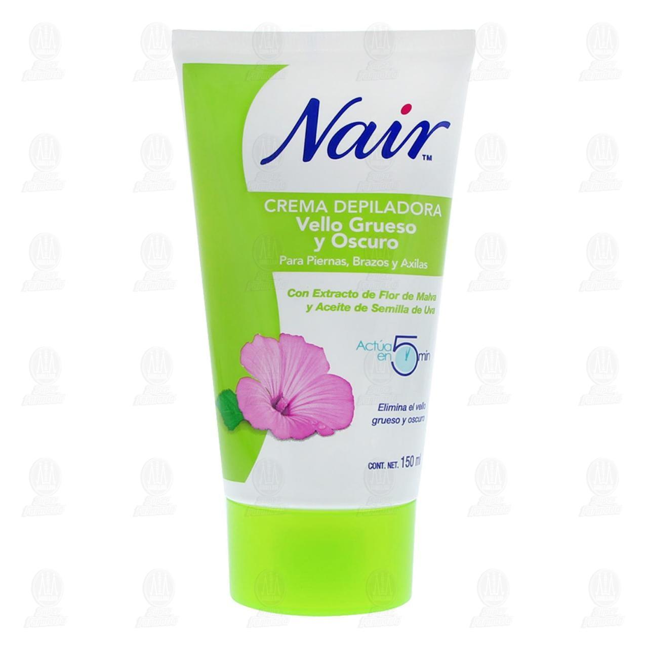 Comprar Nair Crema Depiladora Vello Grueso y Oscuro, 150 ml. en Farmacias Guadalajara